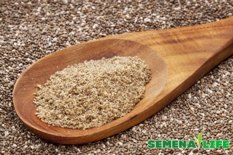 Семена чии мука