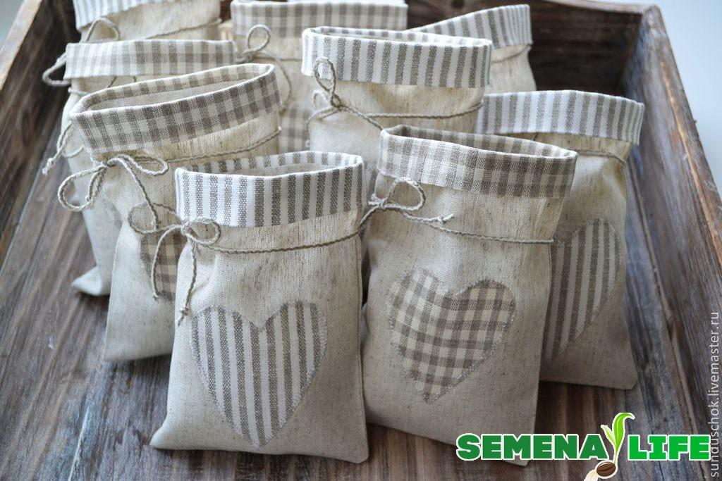 мешочки для семян эустомы